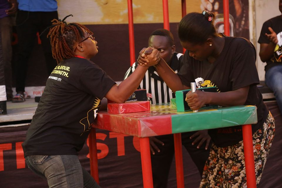 Eagle Extra Stout Armwrestling