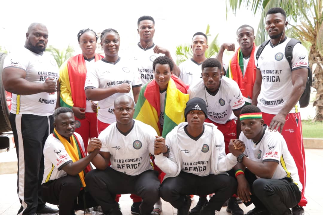 Ghana Armwrestling marks five years, fastest growing federation in Africa.