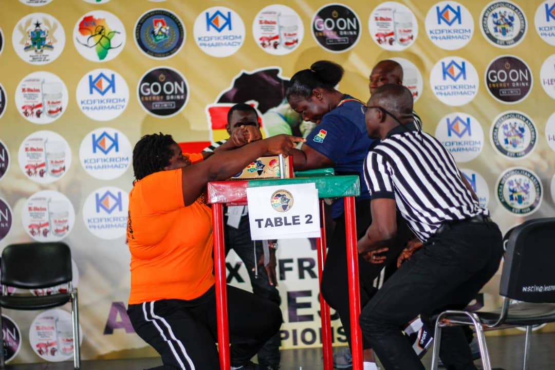 Ghana offered chance to host 2020 Africa Armwrestling Championship