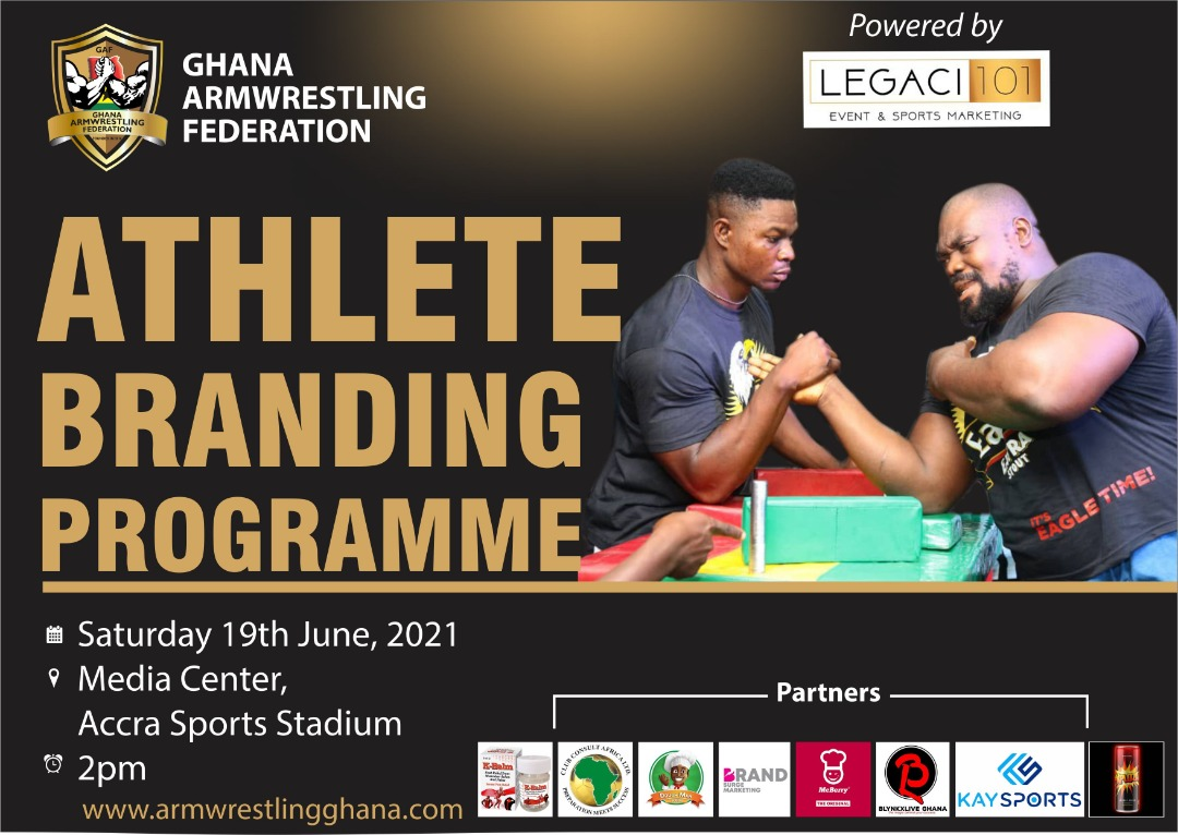Ghana Armwrestling Federation to host Athlete Branding & Empowerment Programme on Saturday